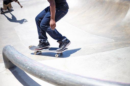 Skateboarding, Park, Sport, Street, Skill, Man, Skater