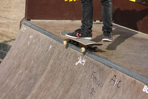 Skate, Skateboard, Extreme, Skater, Young