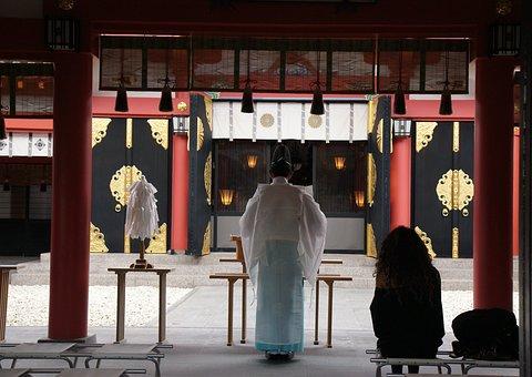 Okinawa, Temple, Ritual, Japan, Naminoue Shrine, Travel