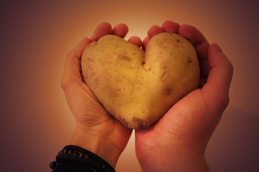 Potato, Heart, The Two Halves Of, Love, Poland, Hands