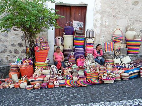 Street, Vendor, Rural, Handcraft, Tourism, Travel