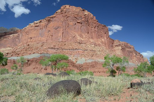 Utah, Capitol Reef National Park, Rock Formation