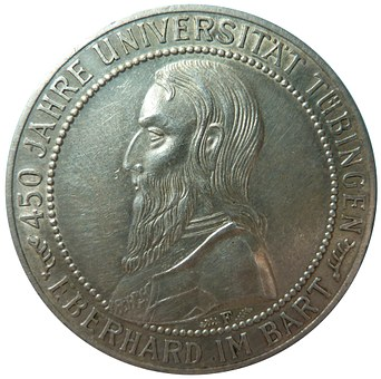 Reichsmark, University Tübingen, Weimar Republic, Coin