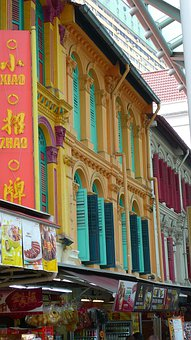 Singapore, Chinese Sector, Pastel, Singaporean, Windows
