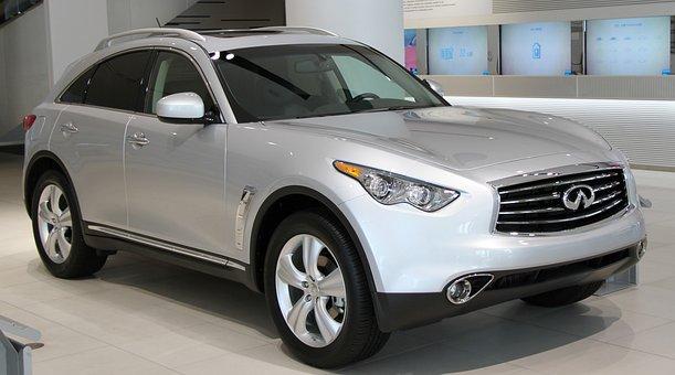 Car, Suv, Infiniti, Fx, Front, Vehicle, Automobile