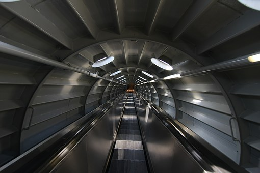 Light, Tunnel, Away, Tube, Infinity