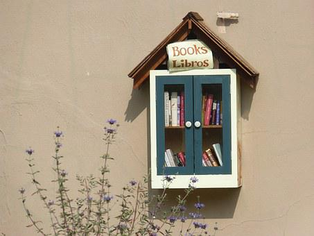 Books, Reading, Library, Little Library, Free Books