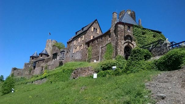 Castle, Mosel, Middle Ages, Building, Tower