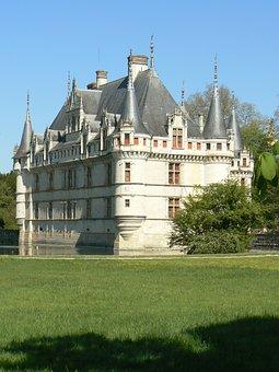 Castle, Azay Curtain, Châteaux De La Loire