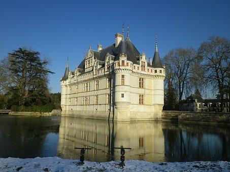 Castle Of Azay Le Rideau, Château De La Loire