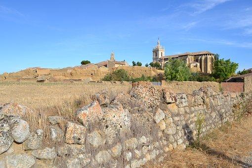 Tamara's Fields, Palencia, Fence, Stone