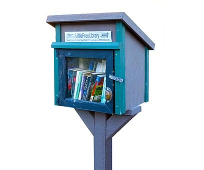 Little Library, Library, Books, Reading