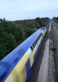 Metronome, Train, Train Track, Railway
