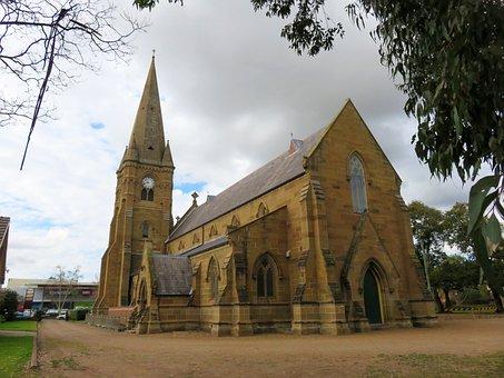 Church, Maitland, Anglican, Mary, St, Parish, Nsw