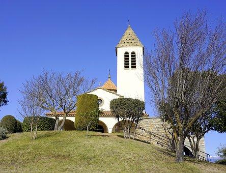 Lourdes Shrine, Cult Place, Church, Religion, Building