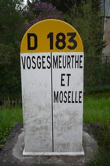 Terminal, Vosges, Meurthe And Moselle, Road
