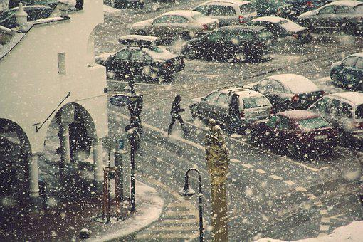 Winter, Outdoor, Snow, Cold, People, Season, Snowing