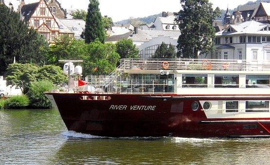 Ship, Mosel, River Venture, Restaurant Ship, River
