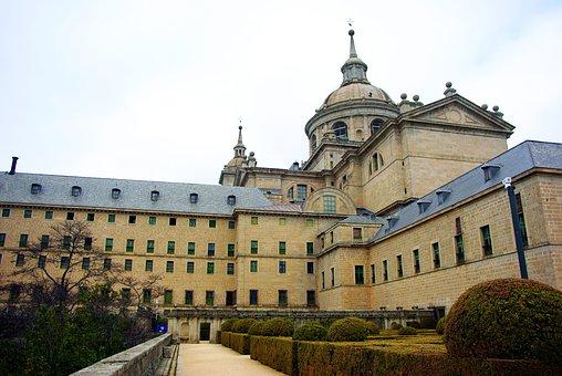 Spain, El Escorial, Royal Palace, Monument, Museum