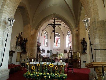 Parish, Church, St, Peter, East Flanders, Belgium