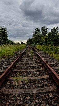 Rails, Railway, Railway Rails, Track, Train, Track Bed