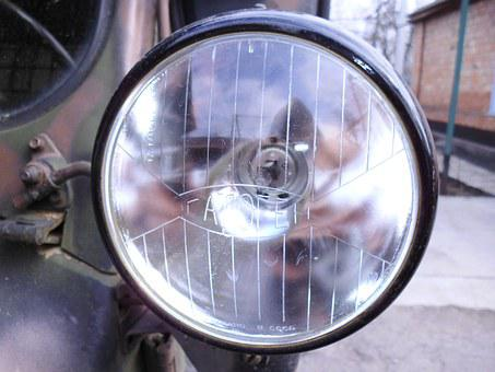 Headlights, Halogen, Lantern, Optics, Machine, Uaz, 469