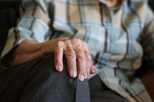 Hands, 104 Years, Pensioner, Old Age, Old Lady, Grandma