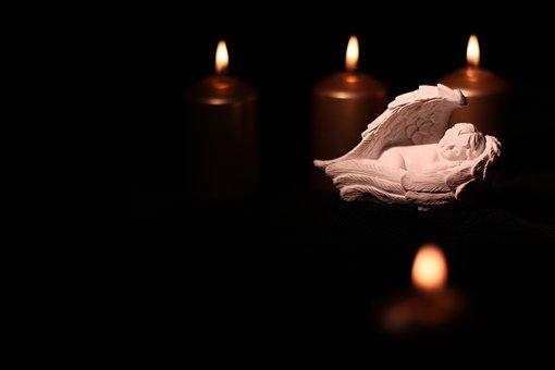 Black, Candle, Christmas, Advent, Deco, Prayer