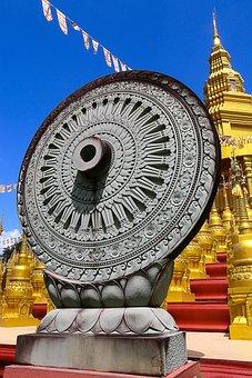 Wheel Of Life, Wheel Of Dhamma, Buddhism, Ancient