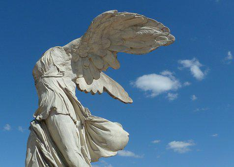 Angel, Montpellier, France, Air, Summer