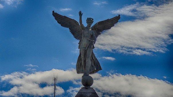 George-etienne Cartier, Montreal, Angel, Wings