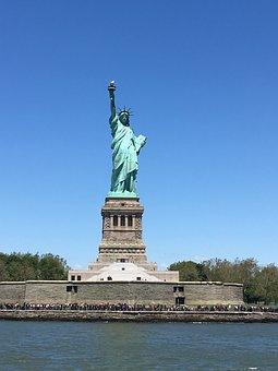 Statue Of Liberty, Nj, Architecture, Metropolitan