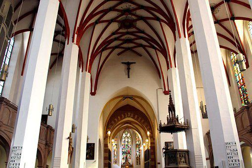 Leipzig, Thomas Church, Bach, Church, Architecture