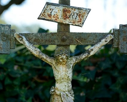 Metal Cross, Believe, Cross, Metal, Iron, Stainless