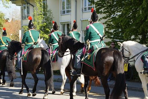 Guard, Soldiers, Beritten, Military, Horses, Reiter