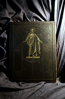Bible, Book, Holy Scripture, God's Words, Antiquarian