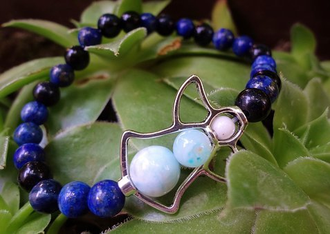 Bracelet, Crystal, Mineral, Lapis Lazuli, Angel