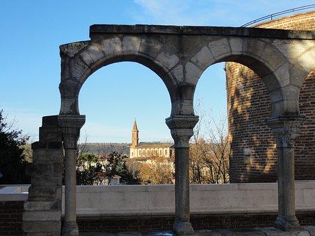 Arabesque, Bridge, Architecture, France, Albi, Unesco