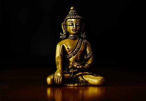 Buddha, Fig, Bronse, Golden Buddha, Meditation, Asia