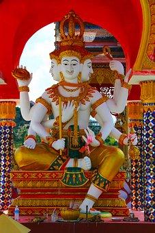 Lakshmi, Buddhist, Thailand, India, Culture, Deity, God
