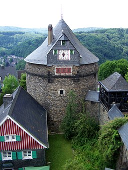 Castle, Keep, Middle Ages, Knight's Castle, Building