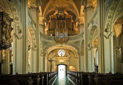 Church, Architecture, Vault, Building, Baroque