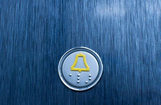 Elevator, Button, Building, Push, Lift, Floor, Metal