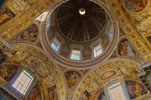 Italy, Rome, Basilica Di St Maria Maggiore, Church, Sky