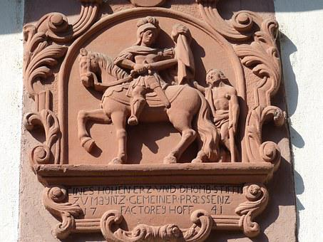 Saint Martin, Relief, Church, Holy, Historically, Art