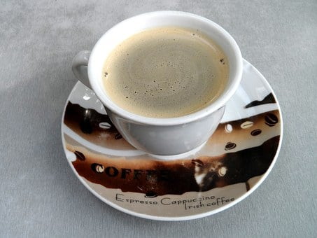 Coffee Cup, Cup, Saucer, Ceramic, Coffee, Break