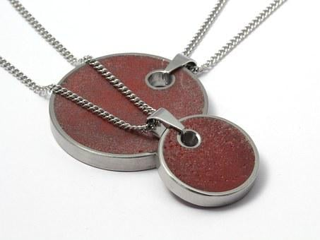 Concrete, Fashion, Necklace, Pendant, Jewelry, Young