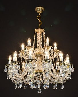 Crystal Chandelier From The Czech Republic
