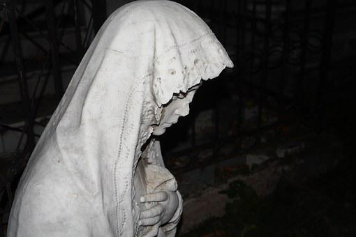 El Salvador, Virgin, Believer, Beliefs, Death, Cemetery