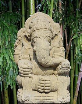 Ganesha, India, Deity, Elephant, Hindu, God